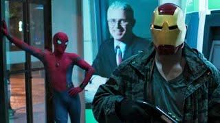 """Питер против грабителей - """"Мстителей"""". Человек-паук. Возвращение домой."""
