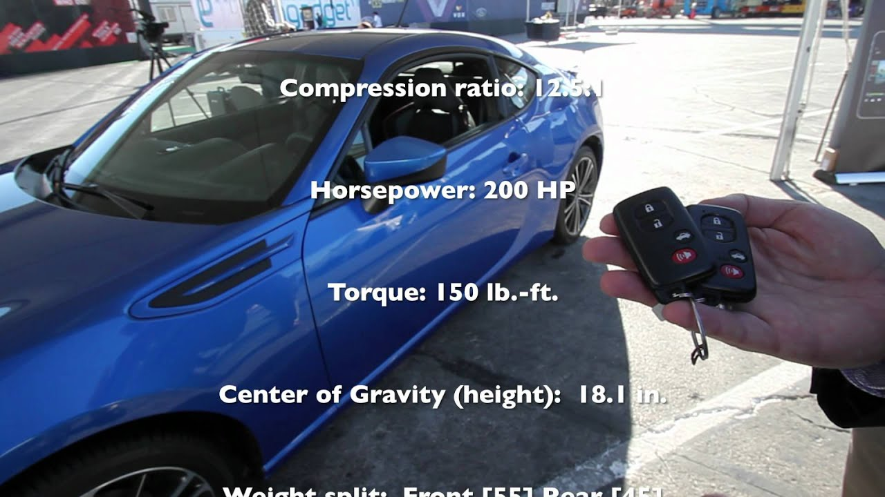 2013 subaru brz overview specs premium and limited model info from ces in las vegas youtube. Black Bedroom Furniture Sets. Home Design Ideas