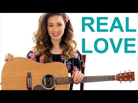 Real Love - Hillsong Young And Free Guitar Tutorial With Play Along