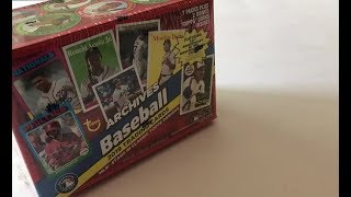Just Released! 2019 Topps Archives Blaster Box Break!