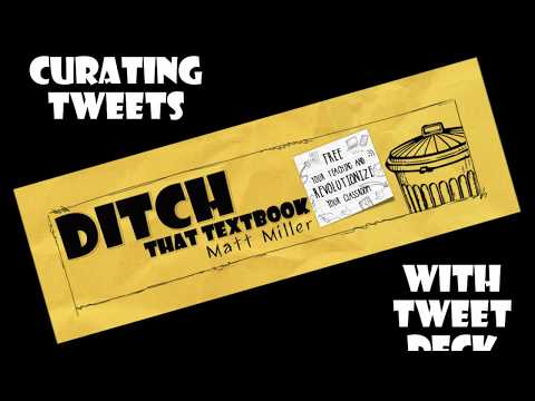 How To Archive Twitter Chats With TweetDeck