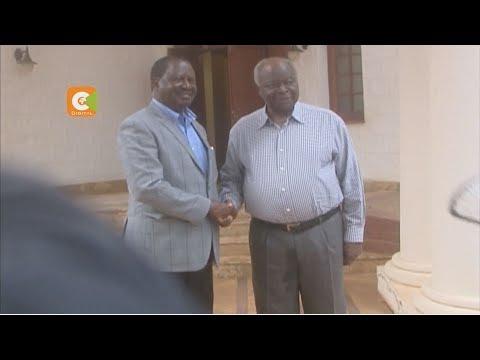 Odinga meets retired President Kibaki