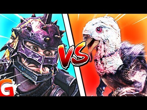 INSECT MAN 🐞 VS TURKEY-REX! 🐔 | Monster Hunter: World Funny Moments