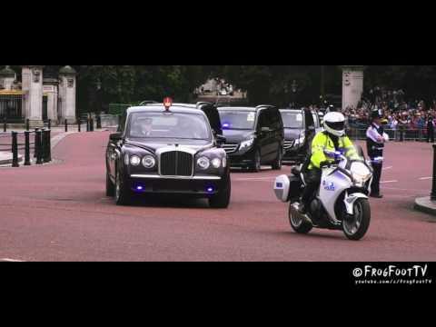 London Metropolitan Police | Special Escort Group escorting Royal Family