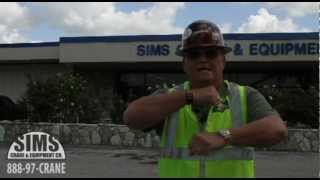 Advanced Hand Signals | Sims Crane Minute