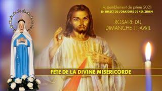 Rosaire du dimanche 11 avril, replay