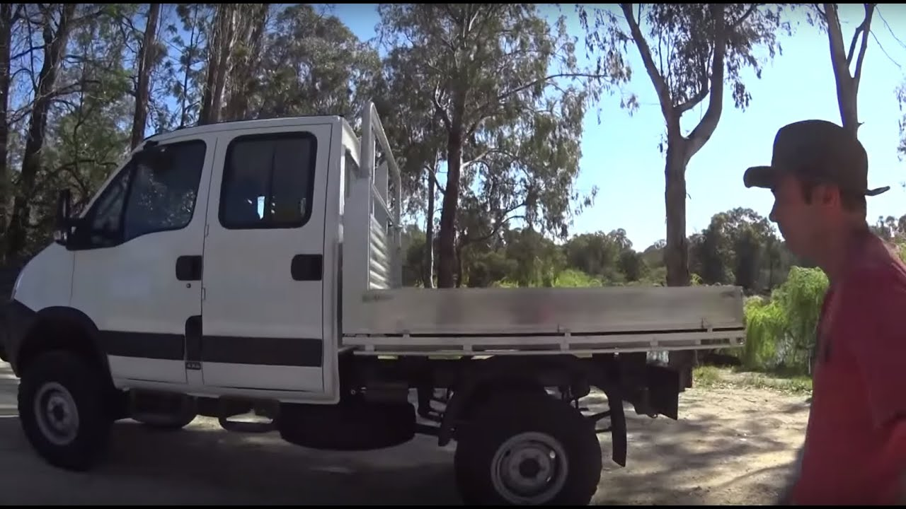my dream 4x4 truck iveco daily double cab 4wd perfect. Black Bedroom Furniture Sets. Home Design Ideas