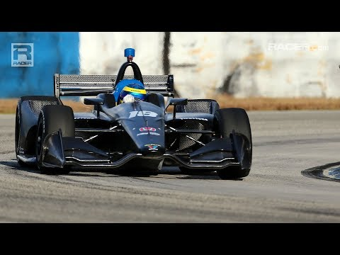 RACER: IndyCar Testing Day 1 at Sebring