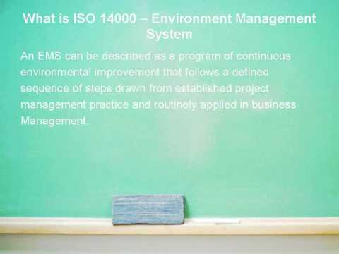 What Is ISO 14000 Standards