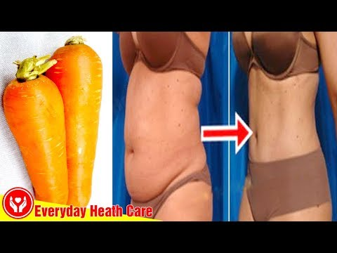 How to Lose Weight Fast With Carrot ! Lose Belly Fat in Just 5 Days No Strict Diet No Workout!