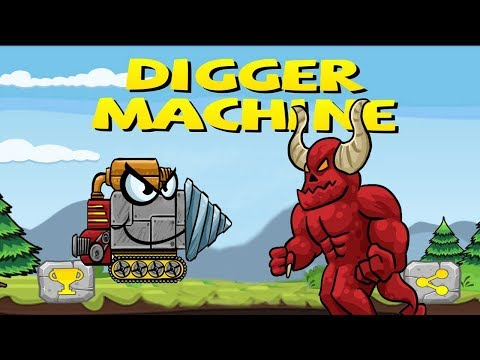 Digger Machine Find Minerals Part 3 10.000 M Boss Ending | Best Android Games 2017 | Droidnation