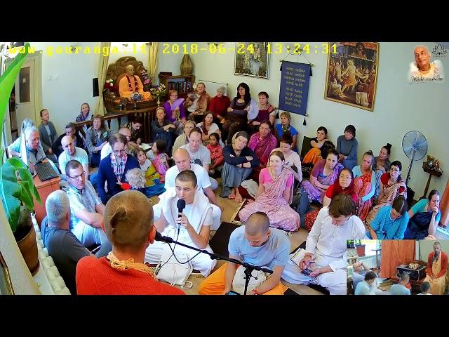 Е.С. Ананда Вардхана Свами, Вильнюс храм, 24.06.2018