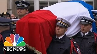French Officer Killed In Terrorist Attack Honored With Ceremony | NBC News