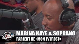 """Marina Kaye & Soprano nous parlent du morceau """"Mon Everest"""""""