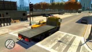 "Man TGL AA Tow Truck GTA IV ""#127 New Car Series"" Full HD"