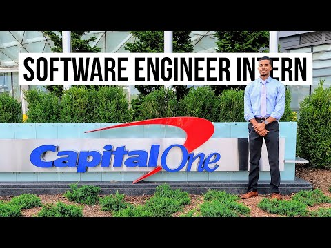 A Day In The Life of a Capital One Software Engineer Intern! | Tech Intern Program