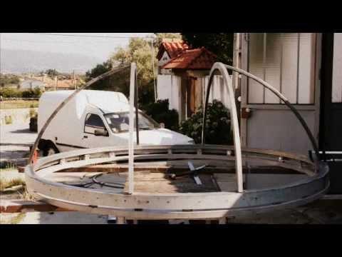 observatory ariane homemade dome - YouTube