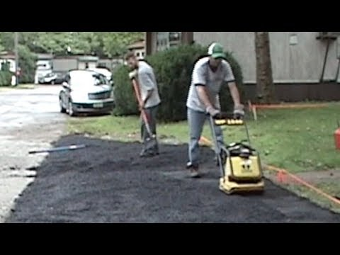 Fixit #3: Paving my driveway, the cheap way!