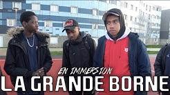 GabMorrison - En immersion à Grigny la Grande Borne avec Lens et la M2G
