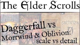 TES: Daggerfall, Morrowind, Oblivion & Skyrim - A Retrospective on Bethesda