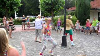 all-in animatie de krakeling Zeist danspret funky monkey