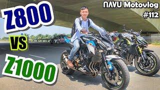 Chạy thử Kawasaki Z800 - Hung dữ đâu kém cạnh Z1000 | Motovlog 112