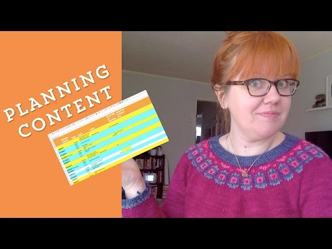 How To Create a Content Calendar // Planning Video
