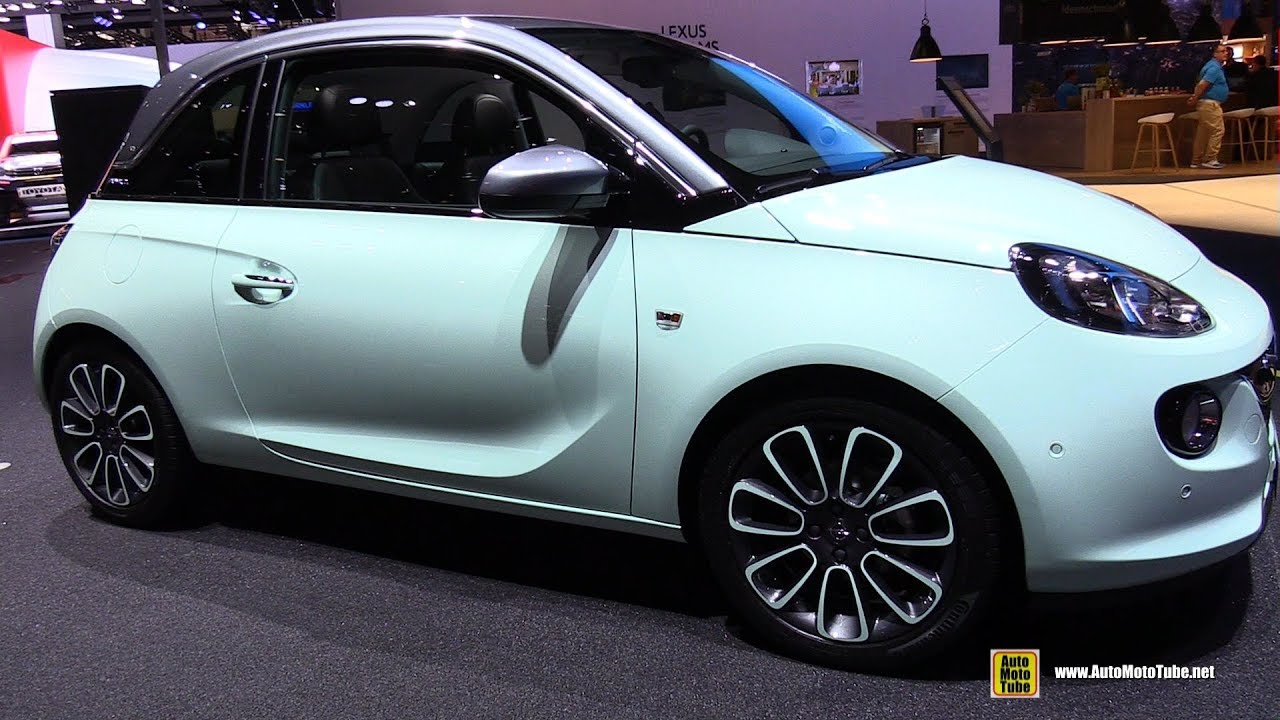 2018 opel adam unlimited exterior and interior walkaround 2017 frankfurt auto show youtube. Black Bedroom Furniture Sets. Home Design Ideas