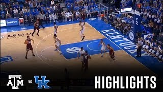 Men's Basketball: Highlights | Kentucky 74, A&M 73