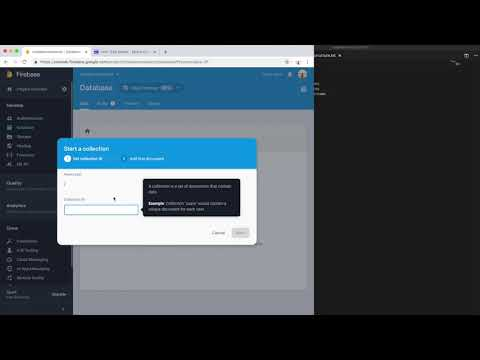 Episode 2 -The Database Model. Creating Chat App With Firestore And React Studio.