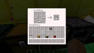 Как сделать ведро в Minecraft 1.3.2 рецепты майнкрафт