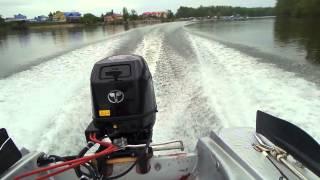 видео Лодочный мотор Tohatsu MFS 30С EPTL