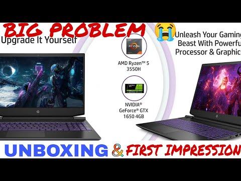HP Pavilion Gaming 15-ec0101AX Unboxing । Ryzen 5 3550h | BEST BUDGET GAMING LAPTOP ? GTX 1650