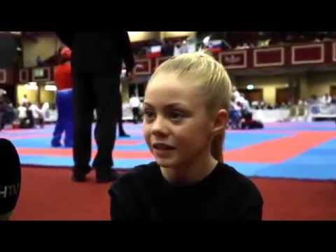 "Kickboxing Gala - Jesse-Jane McParland ""JJ Golden Dragon"" performing & Interview"
