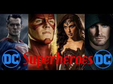 The Script  Superheroes  Dc Comics Tribute  HD