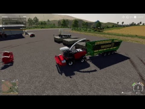 Mods #21 on FS19 - PS4 - Rostselmash forage harvester, Silowolff, Fliegl  Wood Trailer, Fuel Station