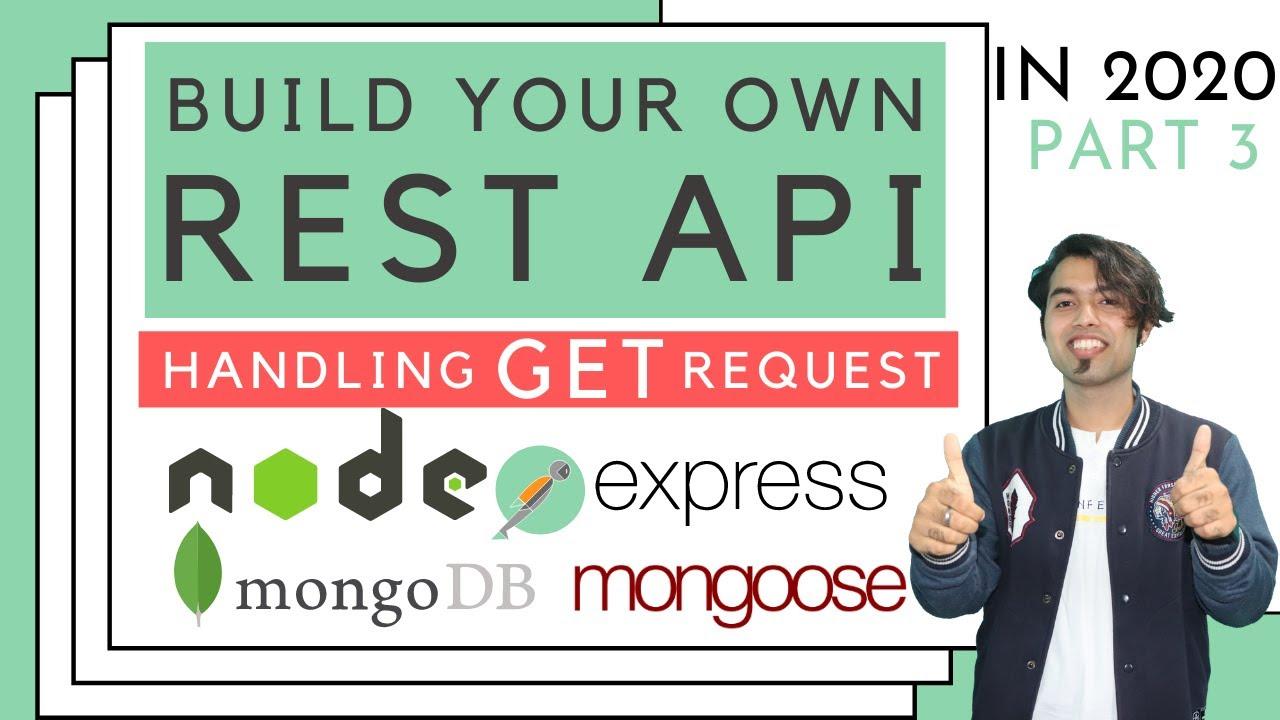 Handling Get Request in REST API using NodeJS & MongoDB
