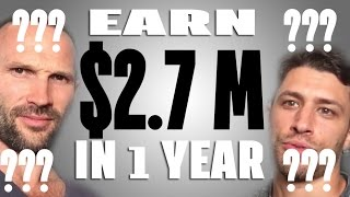 How You Can Make 2.7 Million In One Year Selling T-Shirts