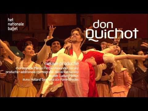 Anna Tsygankova & Matthew Golding in Don Quichot at Dutch National Ballet