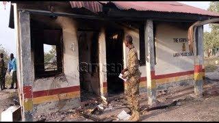 Al-Shabaab militants burn down police camp in Garissa
