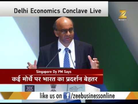 Deputy PM of Singapore T Shanmugaratnam addresses Delhi Economic Conclave