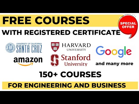 FREE COURSE FROM HARVARD And Others For Engineering And Business Students