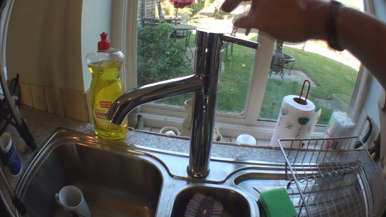 Replace Kitchen Tap