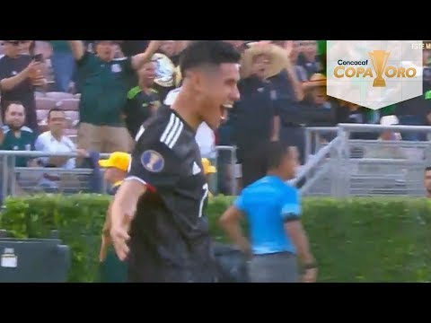 Gol de Uriel Antuna | México 1 - 0 Cuba | Copa Oro | Televisa Deportes