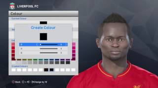 PES 2017 - Sadio Mane Face Build