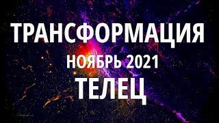 ♉ТЕЛЕЦ. НОЯБРЬ 2021. ТРАНСФОРМАЦИЯ.