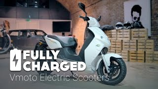 Vmoto Electric Scooters | Fully Charged