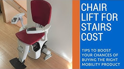Chair Lift For Stairs Cost | Stair Lifts Cost | (855) 999-3915