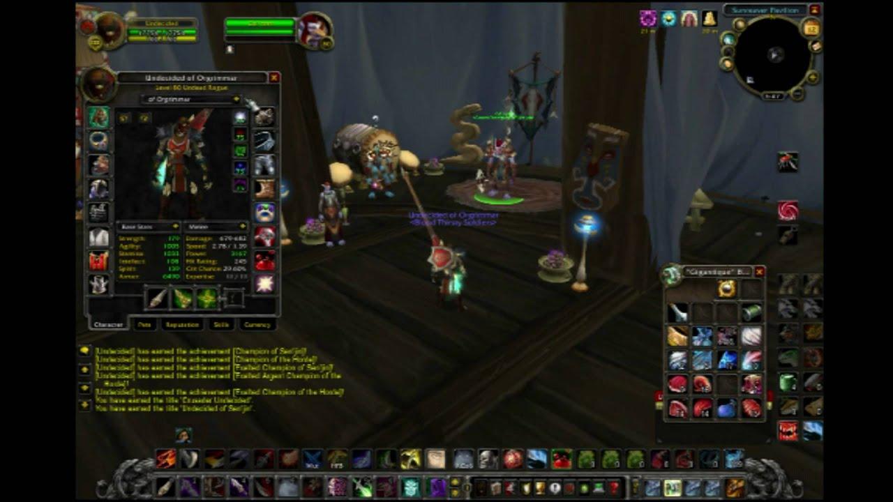 World Of Warcraft - Getting Crusader Title