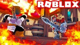 KNIGHTS + PALADINS VS MAGES + ARCHERS IN ROBLOX! (Roblox Kingdom Battles)
